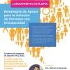 """Imagen Invitación a Lanzamiento Diploma """"Estrategias de apoyo a la inclusión de personas con discapacidad"""""""