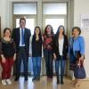 Imagen Decano se reúne con estudiantes que realizarán pasantía en Universidad de Córdoba