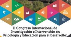 Imagen II Congreso Internacional de Investigación e Intervención en Psicología y Educación para el Desarrollo: Diversidad, Convivencia y ODS.
