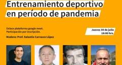 Imagen Conversatorio: Entrenamiento deportivo en pandemia