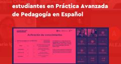 Imagen Última intervención didáctica de estudiantes en Práctica Avanzada de Pedagogía en Español