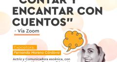 """Imagen Estudiantes de Educación Parvularia realizan seminario """"Contar y Encantar con Cuentos"""""""