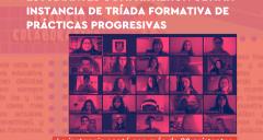 Imagen Pedagogía en Español realizó última instancia de Tríada Formativa de Prácticas Progresivas