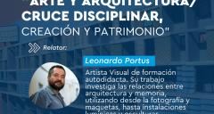 Imagen Pedagogía en Artes Visuales realiza conversatorio sobre Arte y Arquitectura