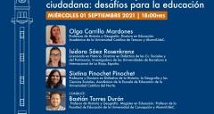 Imagen Conversaciones Constituyentes en el Campanil: contó con la participación de alumni de nuestra Facultad