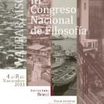 Imagen III Congreso Nacional de Filosofía  Valparaíso, 4 al 8 de noviembre de 2013