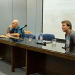 Imagen Reflexiva visita de los profesores extranjeros Walter Kohan y Maximiliano Durán
