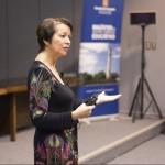 Imagen Magíster en Gestión, Liderazgo y Política Educativa organizó seminario dictado por la Dra. Lyn Sharrat