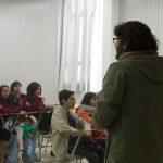 Imagen Estudiantes de la Facultad dictaron charla a alumnos de Liceo de San Nicolás