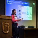 Imagen Agencia de Calidad de la Educación expuso en quinta jornada de ciclo de charlas