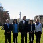 Imagen Decano se reunió con la nueva embajadora de Finlandia en Chile
