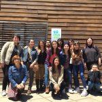 Imagen Estudiantes de Artes Visuales participaron en actividades en Escuela Nuevo Futuro de Lota