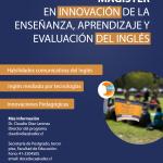 Imagen Magíster en Innovación de la enseñanza, aprendizaje y evaluación del inglés