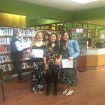 Imagen Estudiante de Pedagogía en Artes Visuales impartió taller en Biblioteca Municipal de Concepción