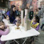 Imagen Organizado por Educación Parvularia: Niñas y niños expusieron obras en la Pinacoteca UdeC