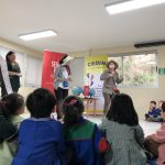 Imagen Educación Parvularia organizó actividad junto a Servel para niñas y niños del Cedin