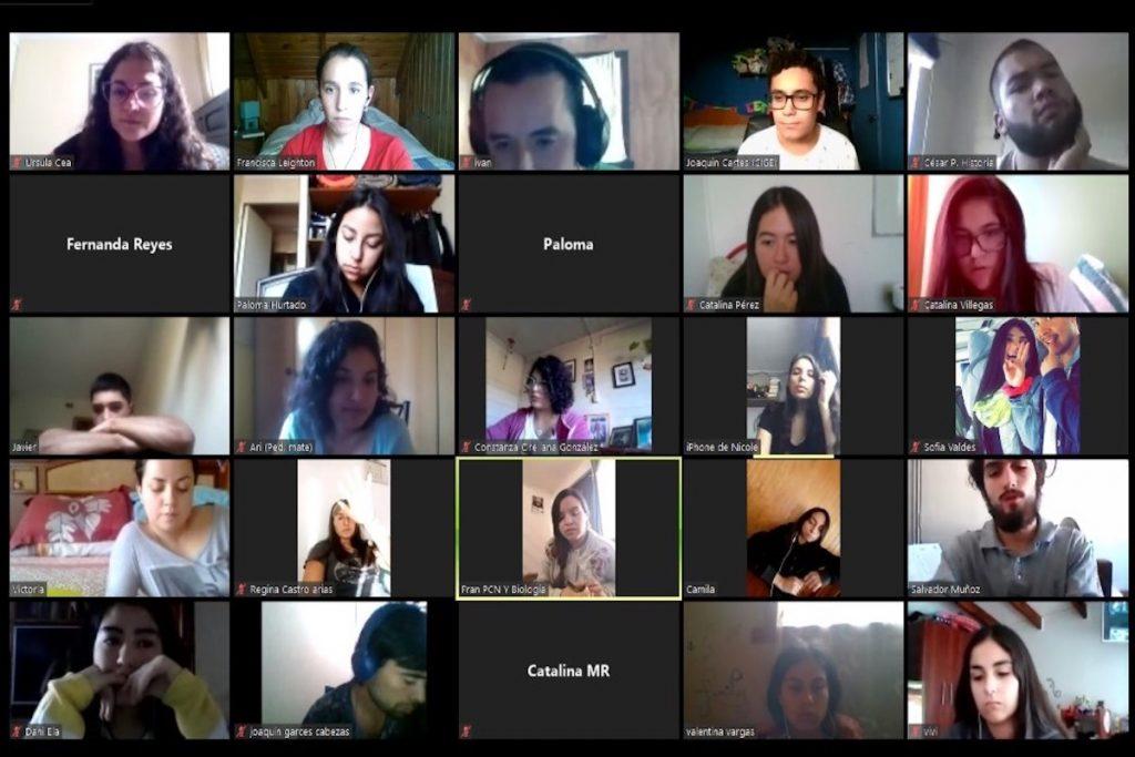 Recibimos a nuevos estudiantes con masivas videollamadas