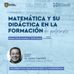 Imagen Matemática y su Didáctica en la Formación de Profesores