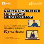"""Imagen Taller """"Estrategias para el aprendizaje autorregulado"""""""