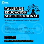 Imagen Inscríbete en el Taller de Educación Socioemocional
