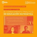 Imagen Pedagogía en Matemática realizó charla sobre el conocimiento práctico