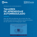Imagen Talleres sobre Aprendizaje Autorregulado para estudiantes