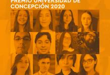 Ceremonia Premios Universidad de Concepción 2020