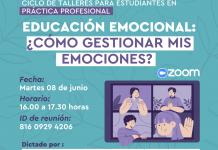 Estudiantes en práctica profesional participan del taller sobre Educación Emocional: ¿Cómo gestionar mis emociones?