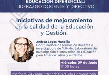 Finaliza ciclo de conversatorios sobre Gestión en las Escuelas de Educación Diferencial