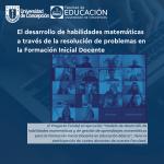 Imagen El desarrollo de habilidades matemáticas a través de la resolución de problemas en la Formación Inicial Docente