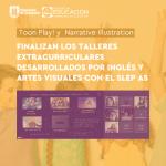 Imagen Finalizan los Talleres Extracurriculares desarrollados por Pedagogía en Inglés y Pedagogía en Artes Visuales con el Servicio Local de Educación Pública Andalién Sur