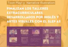 Finalizan los Talleres Extracurriculares desarrollados por Pedagogía en Inglés y Pedagogía en Artes Visuales con el Servicio Local de Educación Pública Andalién Sur
