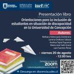 """Imagen Se publica libro en apoyo a la docencia: """"Orientaciones para la inclusión de estudiantes en situación de discapacidad en la Universidad de Concepción"""""""