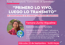Estamento de exalumnas de Educación Parvularia realiza primer conversatorio sobre crianza y educación respetuosa