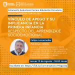Imagen Estamento de exalumnas de Educación Parvularia invita al psicólogo clínico, Dr. Felipe Lecannelier