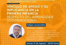 Estamento de exalumnas de Educación Parvularia invita al psicólogo clínico, Dr. Felipe Lecannelier