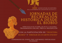 """Estudiante de Pedagogía en Historia y Geografía expone en """"Jornada de Recreación Histórica"""""""
